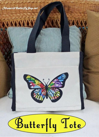 Butterfly Swirls Natural TOTE Giveaway- Enter through April 27th 2018 ⌛️