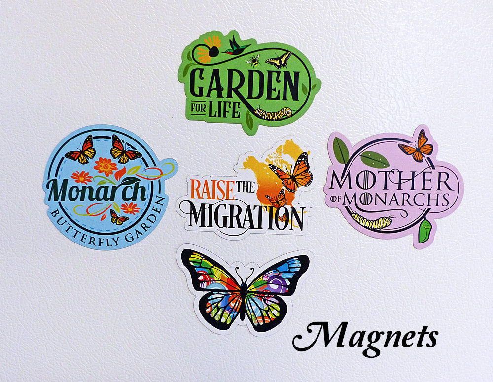 Monarch Magnet Collection for Refrigerators