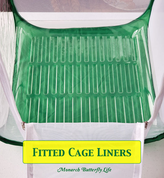 Poo Poo Platter- Fitted Cage Liner for Baby Cube and Tall Baby Caterpillar Cages