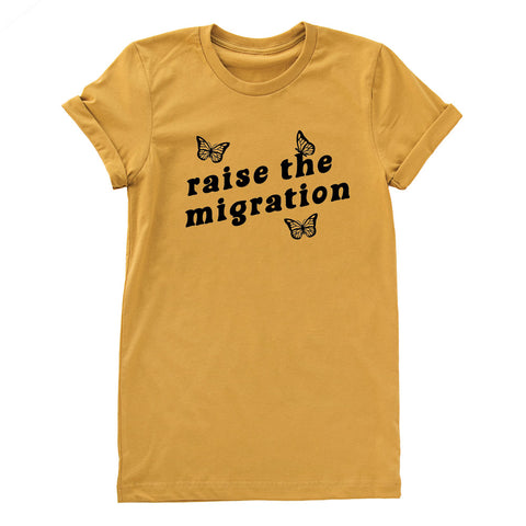 Raise The Migration Shirt Giveaway