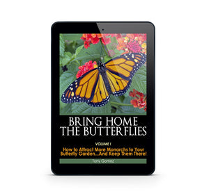 Butterfly Garden Book for Monarch Butterflies- Instant Download