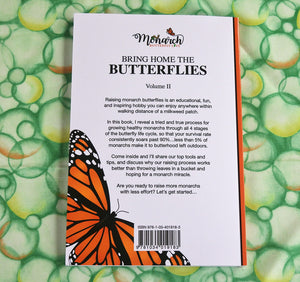 How To Raise Monarch Butterflies Print Book- Paperback