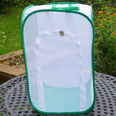 "TALL Baby Butterfly Cage w/ Viewing Window to Raise Monarchs...and More! 15""x15""x24""H"
