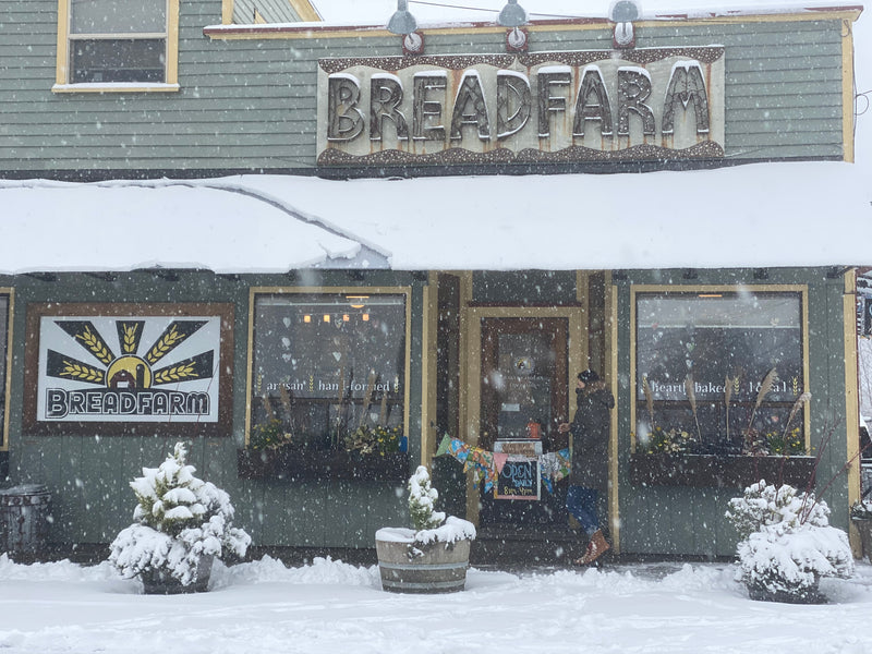 Snow Day!  We're open!