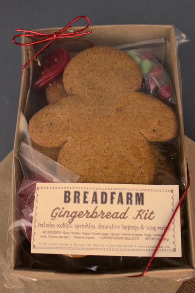 Gingerbread Kits!  Pick one up today!