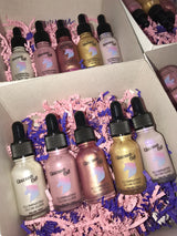 """Unicorn Oil"" Illuminating Glow Elixir 5 Shade Bundle"