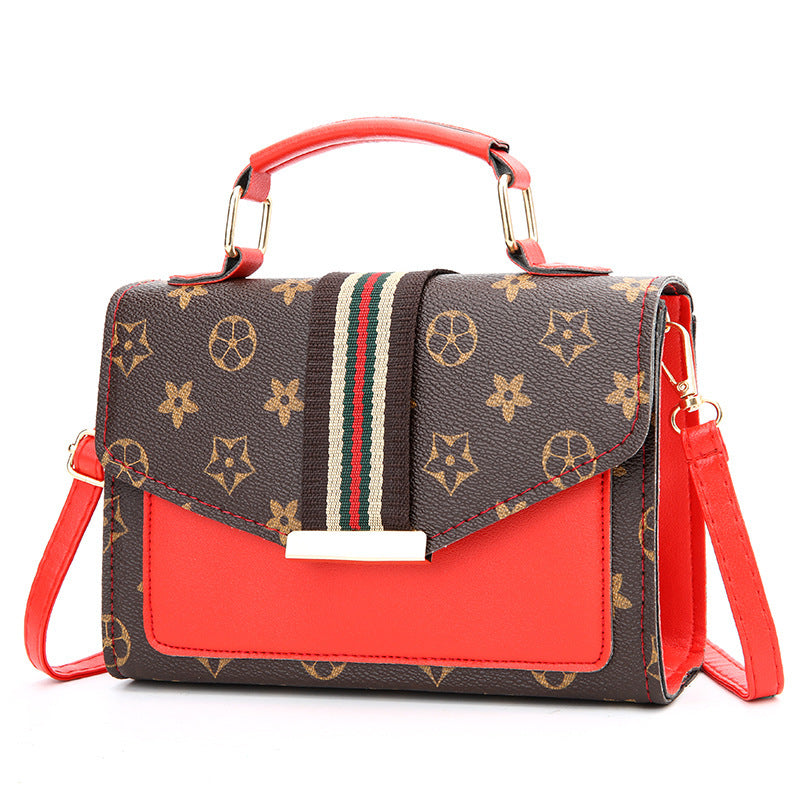 handbag in Europe and the single fashionable inclined shoulder bag