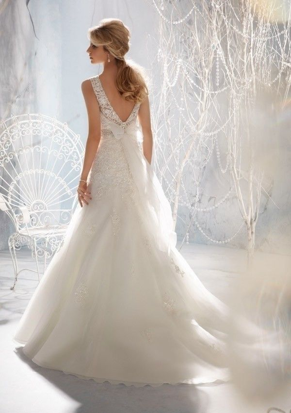 New wedding dress tail-tail European and American foreign trade chest-wiping tail-tail fish tail lace P3372XXXLBuy mate