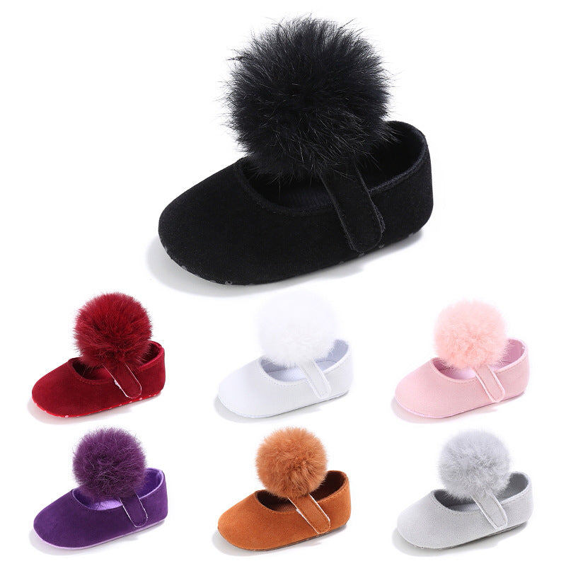 Cotton ball Princess shoes, cotton ball toddlers, cotton ball baby shoes p0003