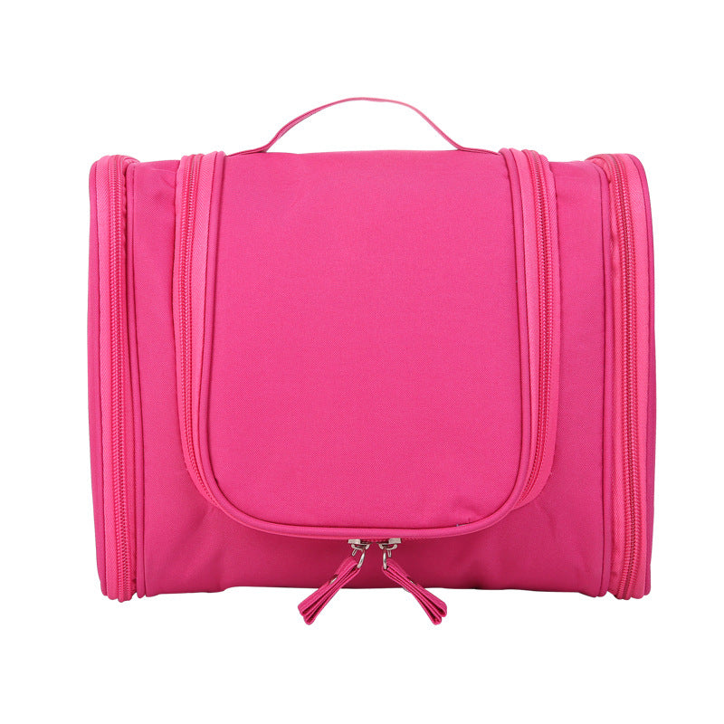 Bag Travel Portable Bag, Large Ear Hanging Double Open Cosmetic Bag