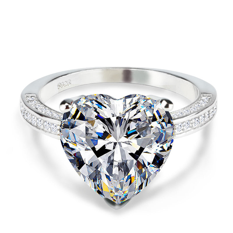 R4325S -  TWLLE Jewelry - Affordable Sterling Silver Wedding Engagement Ring in Nigeria