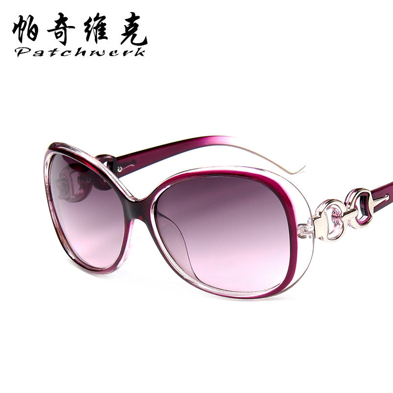New Fashion Sunglasses Madame Euramerican Fashion Large Frame Sunglasses p6101