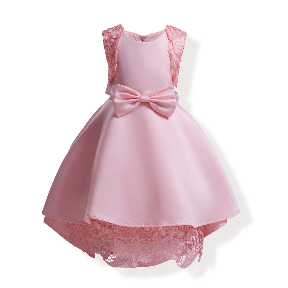 girl princess dress children in Europe and the United States