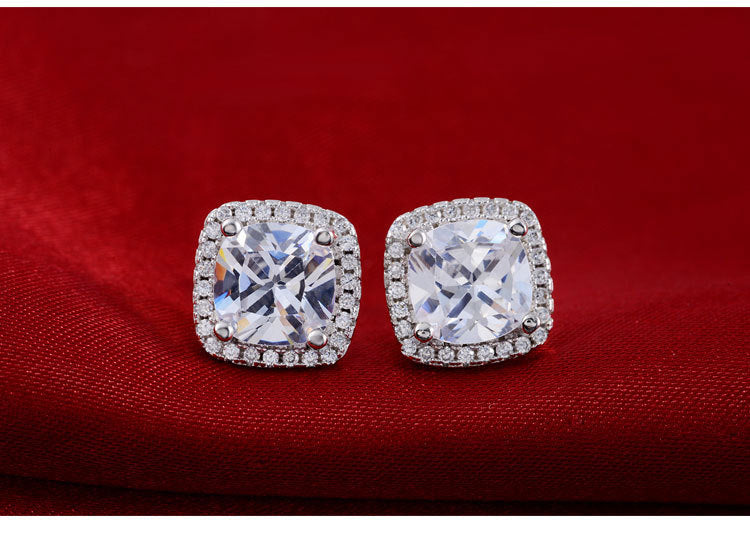 E1097s -  TWLLE Jewelry - Affordable Sterling Silver Wedding Engagement Ring in Nigeria