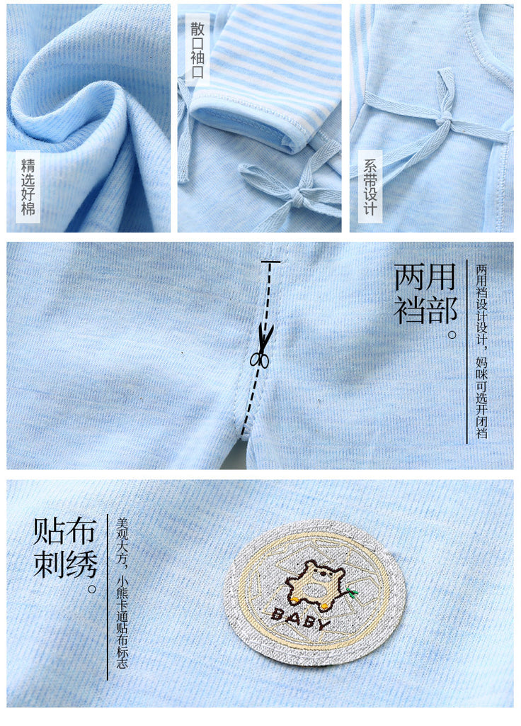 baby underwear cotton newborn clothes bottom  clothes baby autumn and winter p2016blueBuy mate