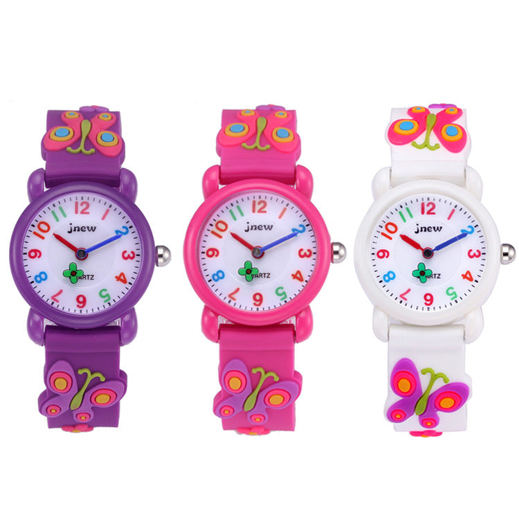 Silicone Cartoon Watch Cute Waterproof Quartz Watch p3995Buy mate
