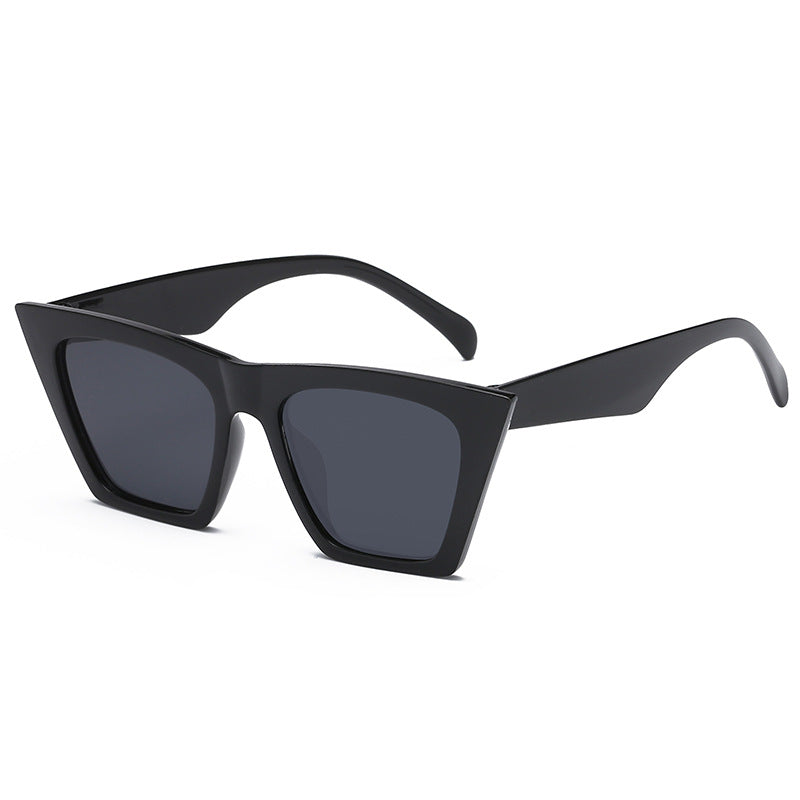 New fashion sunglasses European and American fashion box sunglasses p6100