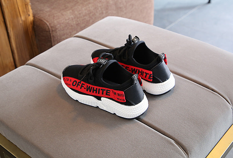 Children's Breathable Screen Shoes 2018 Summer New Girl's Screen Sports Shoes Tide of Boys'Soft-soled Running Shoes p0002Buy mate