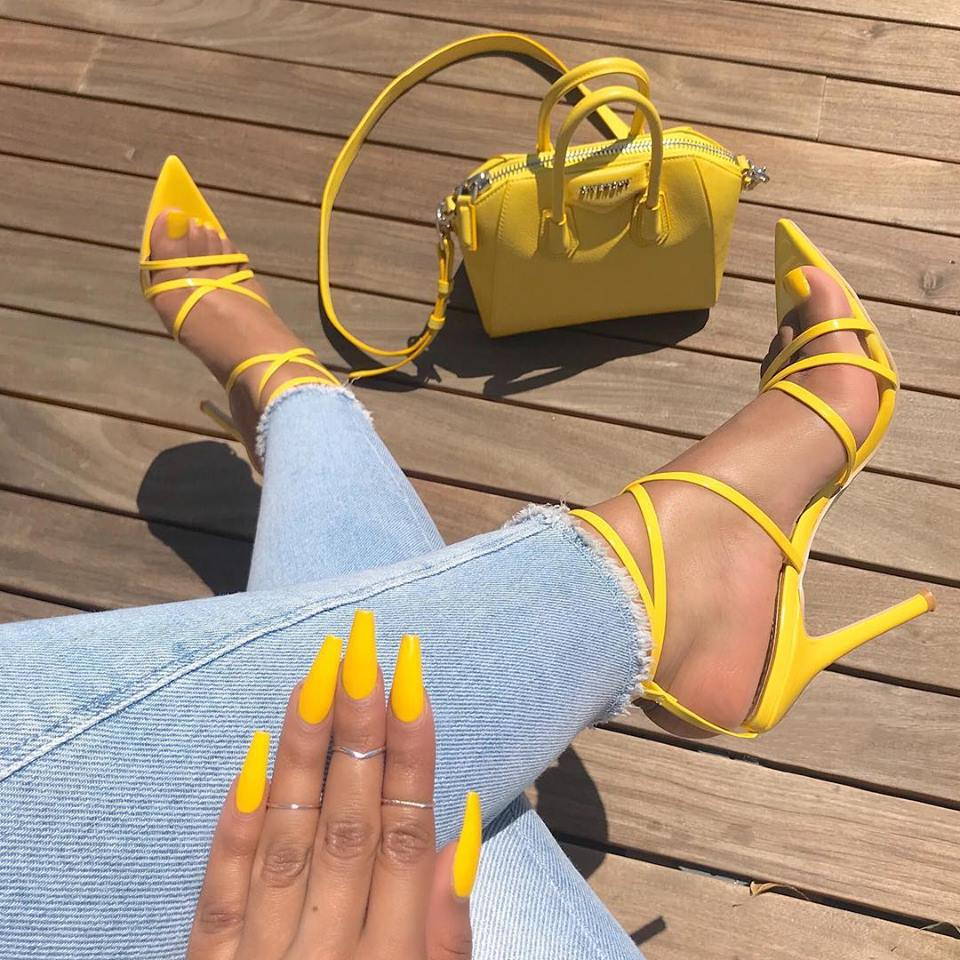Women sandals sexy pointed measures with fine with foreign trade women's shoes, big yards high-heeled sandals p0018Buy mate