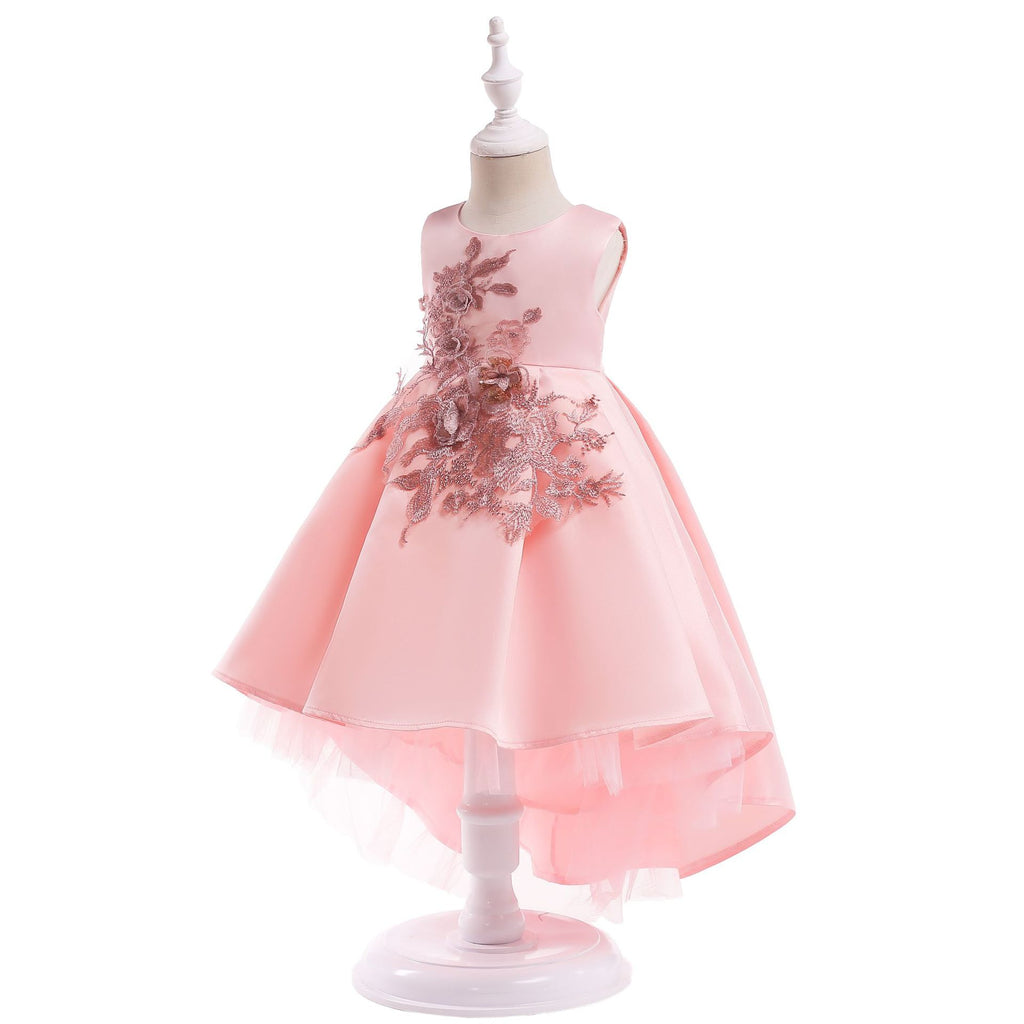 girls dress skirt pleated skirt baby princess dress