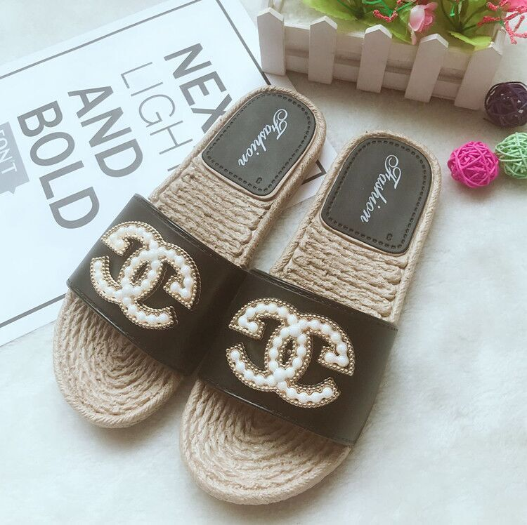 Slippers, Flat Bottom, Bright Face, Word-for-Word Sand Slip-proof p4110