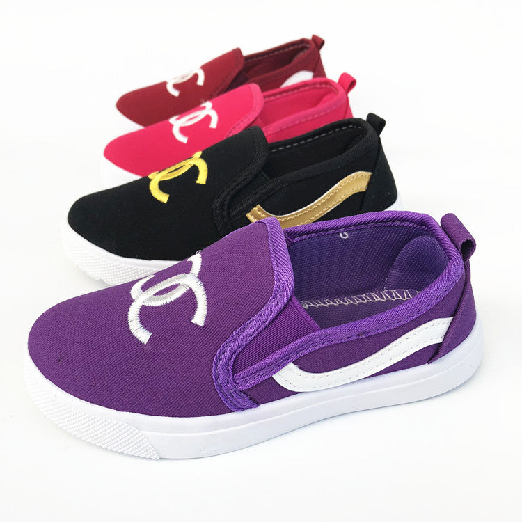 New autumn children's canvas shoes with easy pedal and comfortable injection moulded shoes wholesale p5117Buy mate
