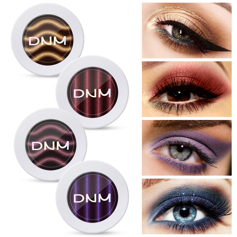 9 color magnetic eye shadow powder, natural stereo, non dizzy dyeing, naked makeup P6006Buy mate