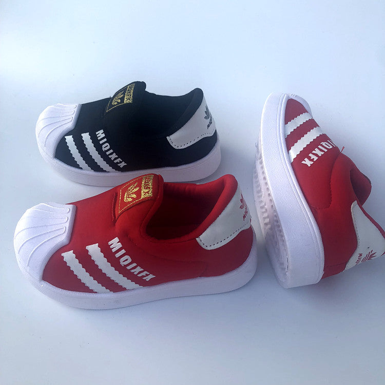 Spring new children's shoes, boys' and girls' net shoes, fashion, breathable sneakers, Korean children's sports shoes p5125Buy mate