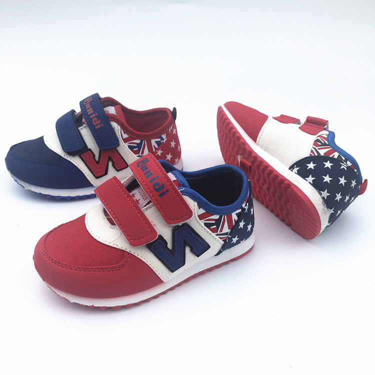 New children's sand-grinding shoes magic round head boys and girls children shoes casual shoes p5115Buy mate