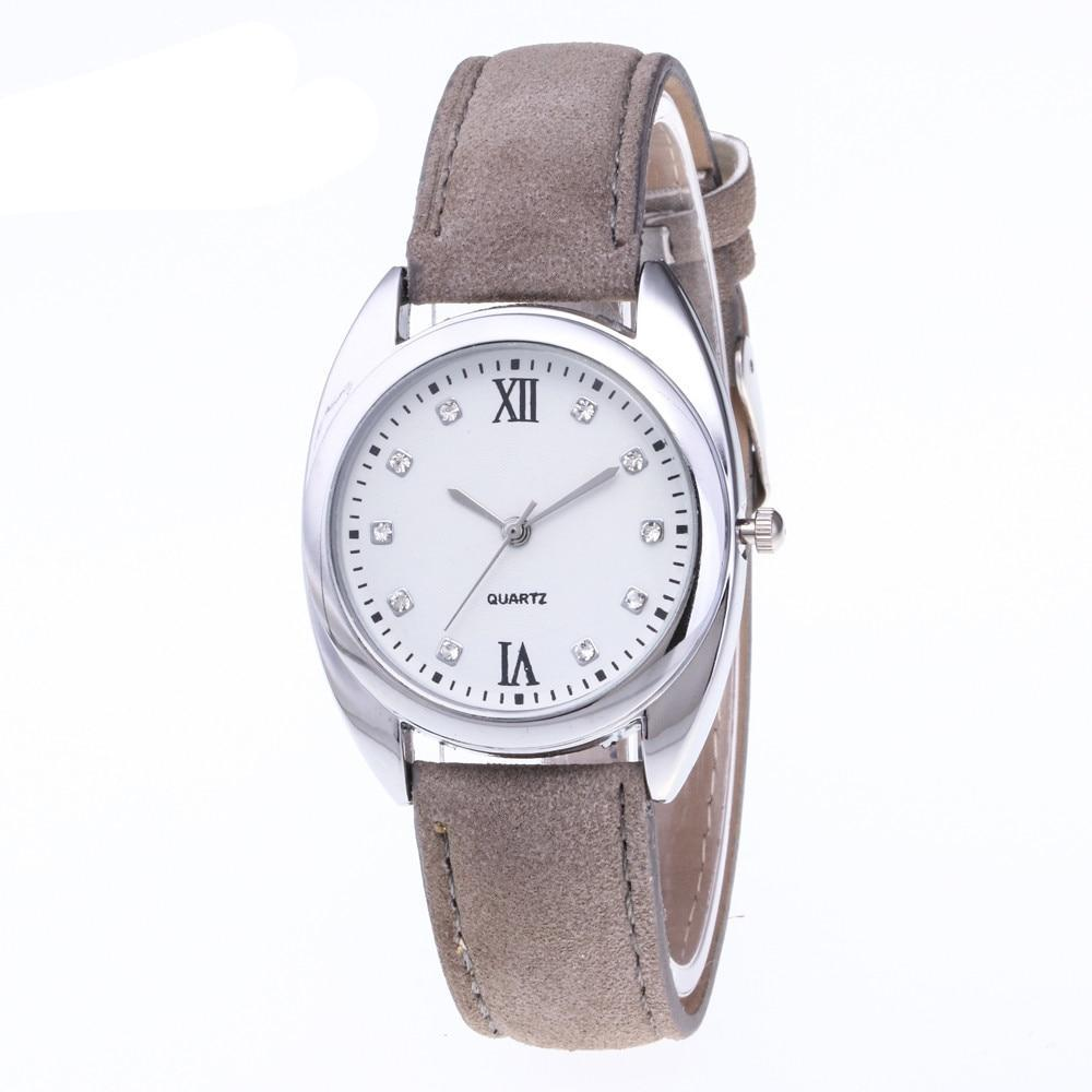 Women Watches Ladies Fashion Casual Leather Quartz