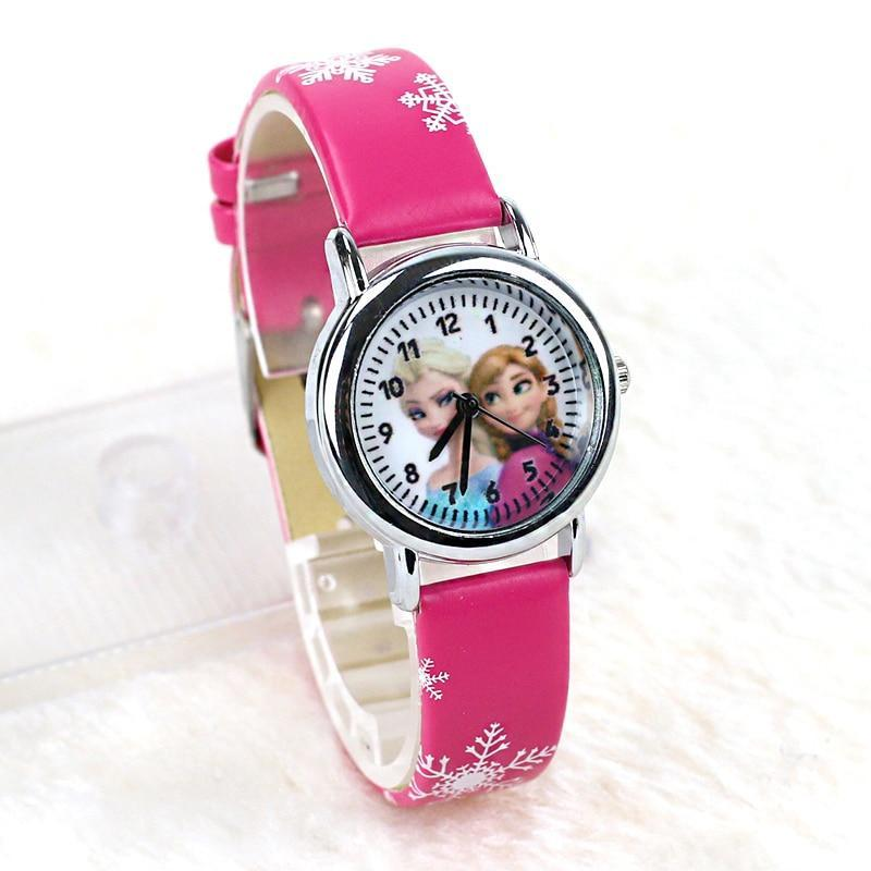 Children Watch Fashion High Quality Leather Strap Wristwatch Casual