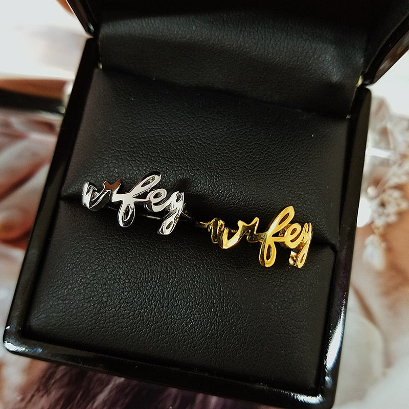 2021 new trendy rose gold silver color fashion ring for girl lovers love Valentine's Day gift jewelry wholesale   R4601S