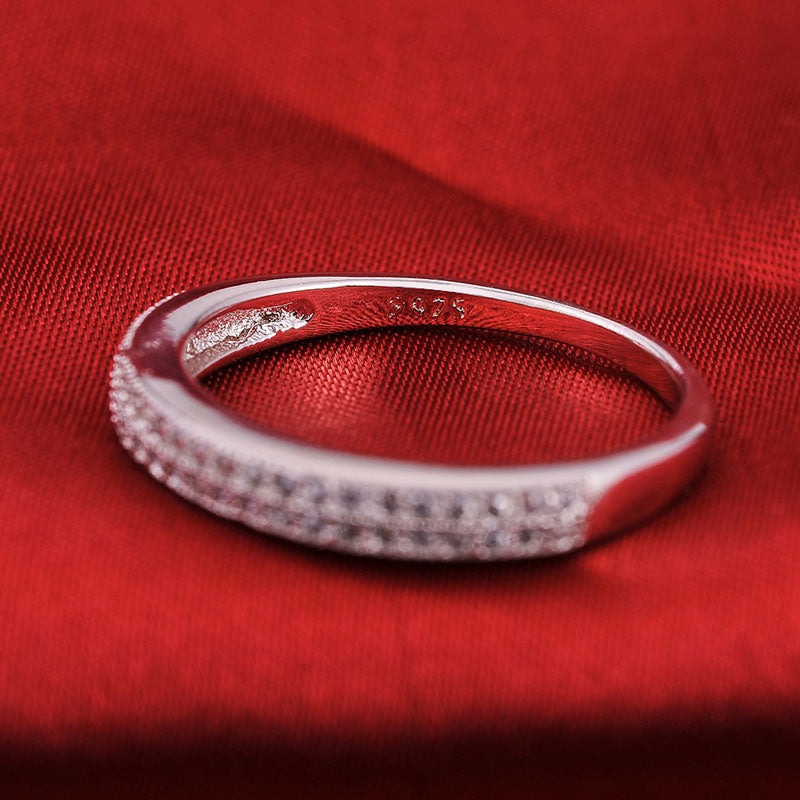 R779AS -  TWLLE Jewelry-- Affordable Brand for Sterling Silver Jewelry - Affordable Sterling Silver Wedding Engagement Ring in Nigeria