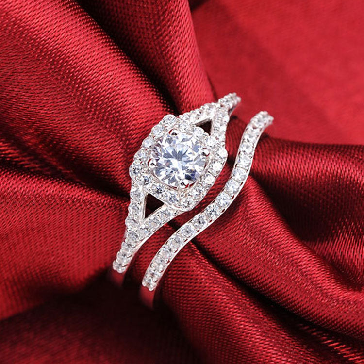R236S -  TWLLE Jewelry - Affordable Sterling Silver Wedding Engagement Ring in Nigeria