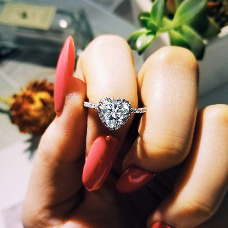 925 Sterling Silver Ring Finger Flower Ring for Women Jewelry Pure R1707S