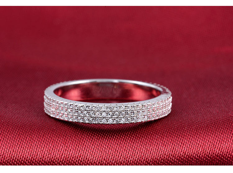 R721S -  TWLLE Jewelry - Affordable Sterling Silver Wedding Engagement Ring in Nigeria