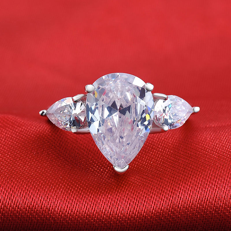 R1904S -  TWLLE Jewelry-- Affordable Brand for Sterling Silver Jewelry - Affordable Sterling Silver Wedding Engagement Ring in Nigeria