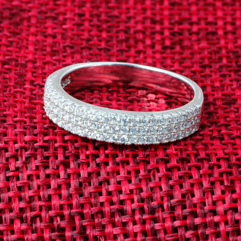 R217S -  TWLLE Jewelry-- Affordable Brand for Sterling Silver Jewelry - Affordable Sterling Silver Wedding Engagement Ring in Nigeria