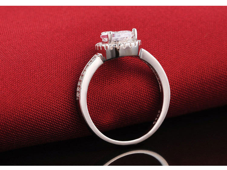R603S -  TWLLE Jewelry - Affordable Sterling Silver Wedding Engagement Ring in Nigeria