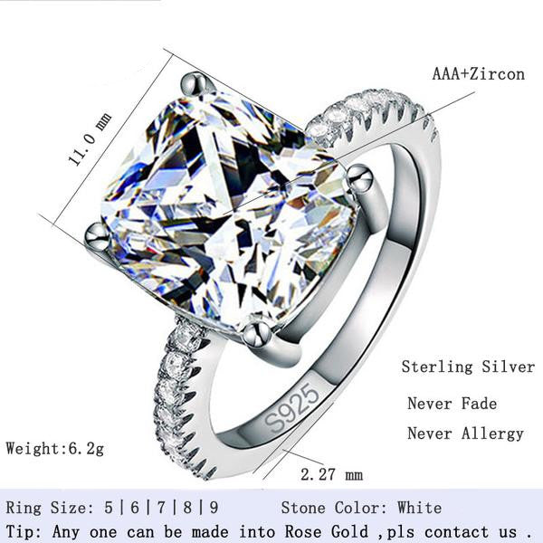 R1953S TWLLE Jewelry Affordable Sterling Silver Engagament