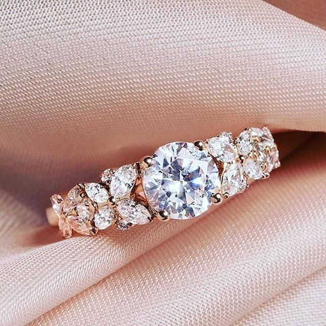 2017 New Products 925 Sterling Silver Weding Engagement Ring For Women R4321S