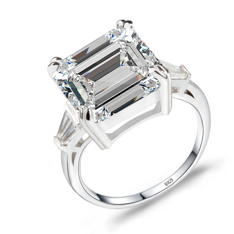 R4337S -  TWLLE Jewelry-- Affordable Brand for Sterling Silver Jewelry - Affordable Sterling Silver Wedding Engagement Ring in Nigeria