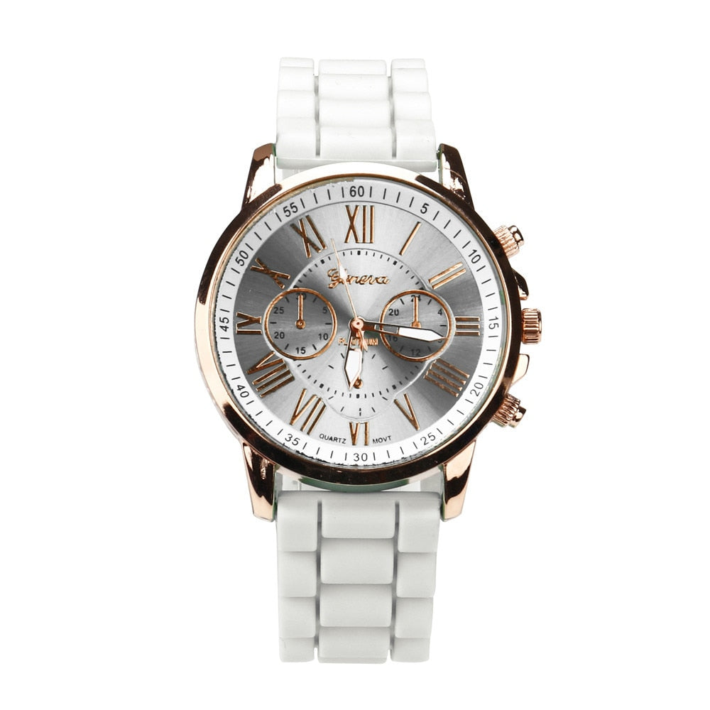 Luxury 2019 White Casual Elegant Waterproof Quartz WristWatches