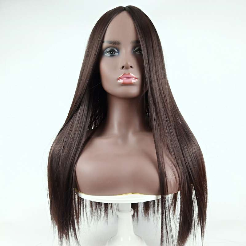 The  synthetic points Liu Haichang straight hair wig caps p6131