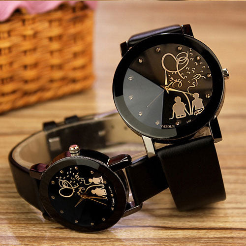 Lovers Quartz Watch Women Men Brand Famous Wrist Watch Female Male Clock Ladies Watches p3495Buy mate