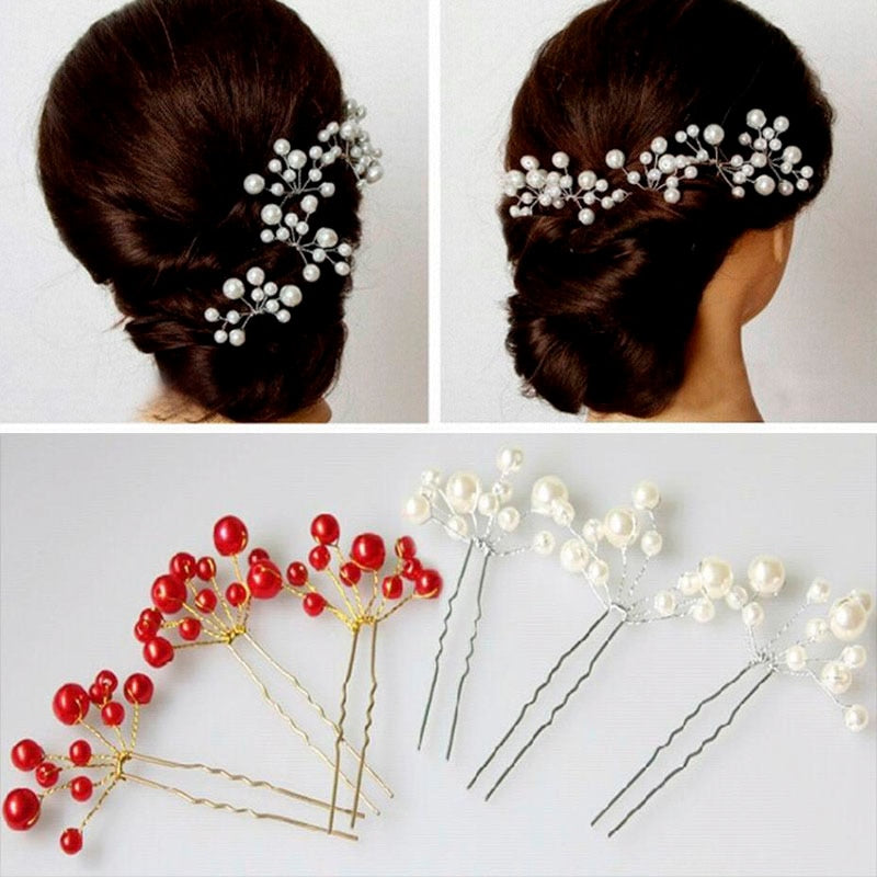 Hot Flower Crystal Hair Clips  Fashion Styles Hairpin Fashion Trendy  Bridal Pearl Hair Pins p3692Buy mate