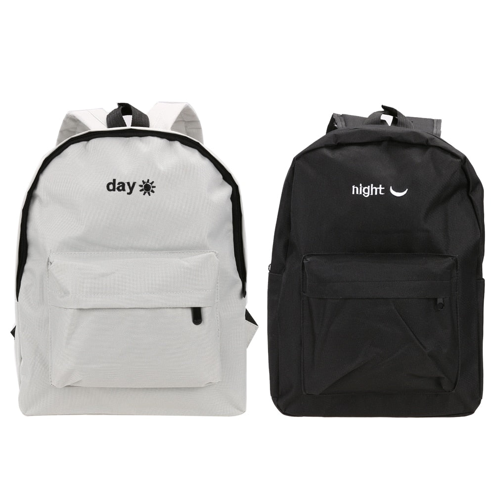 Shoulder Schoolbag Travel Rucksack Mountain Backpack Day Night Embroidery Hiking Camping p2704