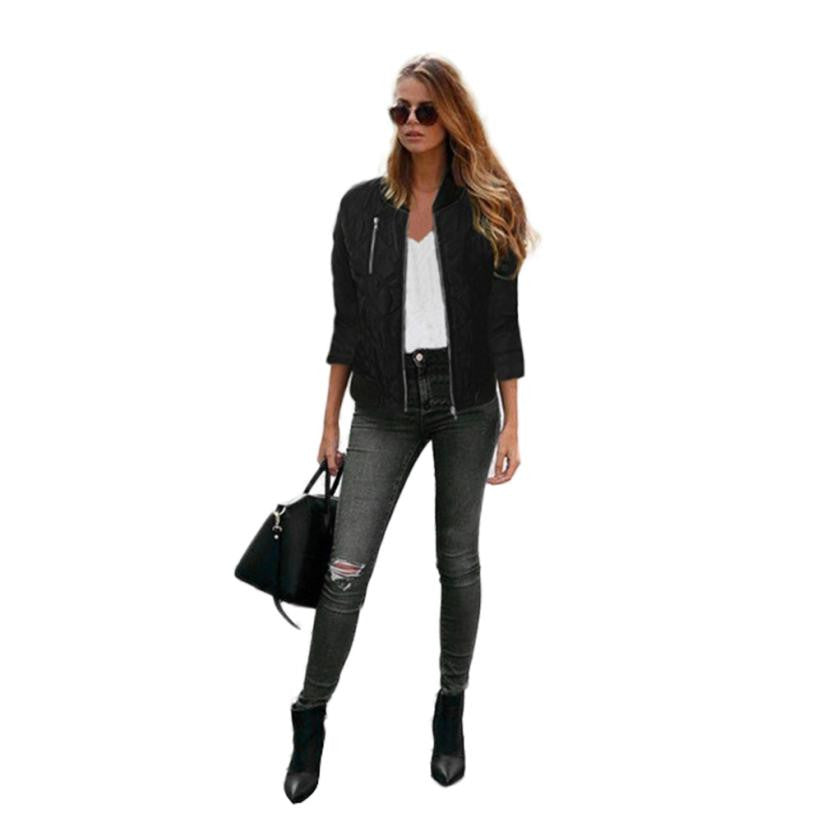 Women Coat Clothes Zipper Coat Women Cloths Chaquetas Mujer