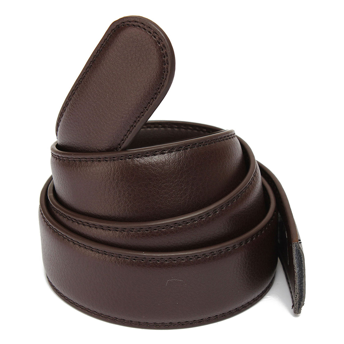 Men Second Floor Cowhide Black Brown Belt Body  Randomly 110cm-125cm Mens Fashion Leather Simple Belts p3835Buy mate