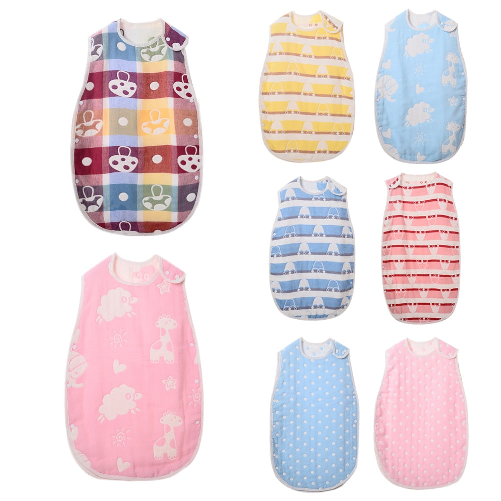 Summer Cotton Envelope For Baby Kids Swaddle Blanket Infant